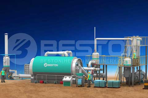 Find the Most Suitable Tyre To Diesel Pyrolysis Plant Supplier